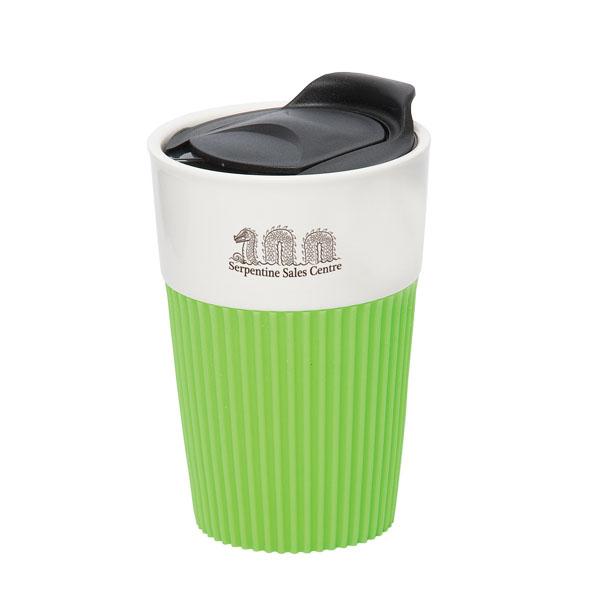 Peruvian 295 Ml 10 Oz Coffee Mug With Silicone Sleeve